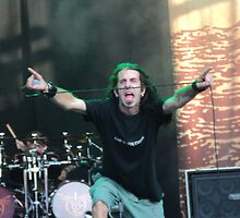Randy Blithe of Lamb Of God by Loretta Marvin