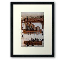 Hand Tools Framed Print
