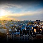 Gleaming Parisian Sunset by TimothyMonson