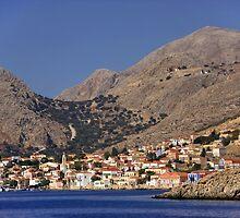 First view of Halki by Tom Gomez