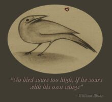 William Blake - Bird by Earth-Gnome