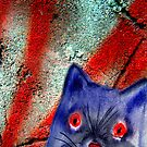 Gordon The Graffiti Cat by Angela  Burman