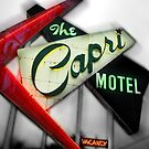 capri hotel, route 66 by brian gregory