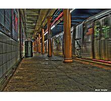Brooklyn Subway R Photographic Print
