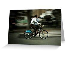 boris bike Greeting Card