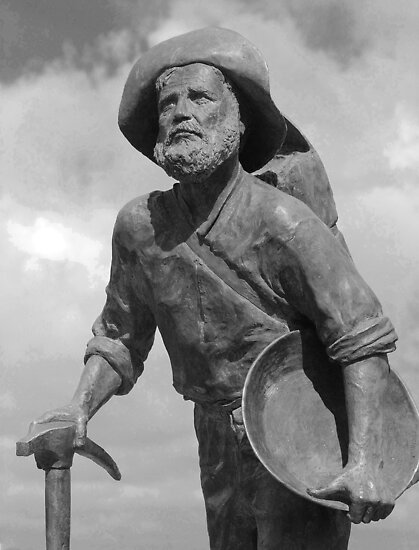 ''Gold Prospector Palmer River Goldrush 1873'' by bowenite