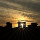 Stonehenge Sunset by John Dalkin