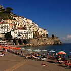 Amalfi Coast by Angela King-Jones