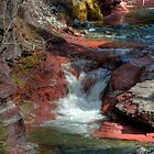 Red Rock Canyon, Waterton National Park, Alberta, Canada by Kerri Gallagher