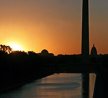 A Capitol Sunrise by Cora Wandel