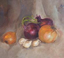 Onions & Garlic by mdaudin