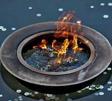 Eternal Flame - AWM, Canberra by Stephen Mitchell