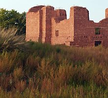 Autumn at Salinas Pueblo Missions National Monument by Mitchell Tillison