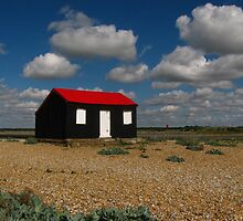 Perfect Isolation, Rye Harbour by wiggyofipswich