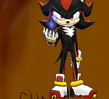 Shadow the Hedgehog by Redustheriotact