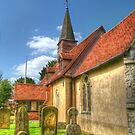 St Giles Church Ickenham by Chris Day