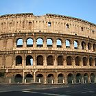 The Colosseum - An iconic symbol of Imperial Rome by hjaynefoster