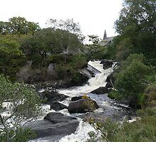 The Rapids,Killarney National Park,Co.Kerry,Ireland. by Pat Duggan