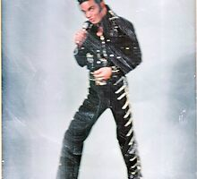Marc as Elvis - color by KirneH001