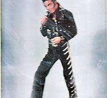Marc as Elvis - color by KirneH001