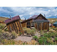 Bodie CA, The Wind Gets Pretty Strong Around Here Photographic Print