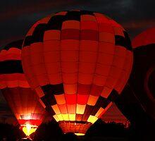 Balloon Glow by Brenda Burnett
