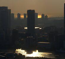 Tokyo Skyline by Mappert