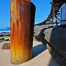 Historic Rusty Long Wharf, Catherine Hill Bay by bazcelt