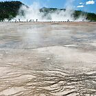 Grand Prismatic Spring by Chris Tarling