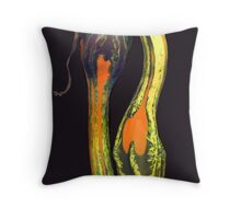 Wanda's Gourds Throw Pillow