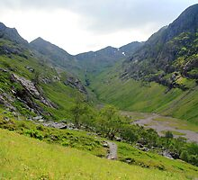 The Lost Valley of Glen Coe by Paul Bettison