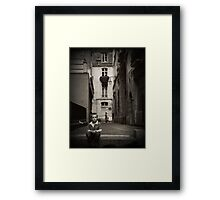 His Street Framed Print