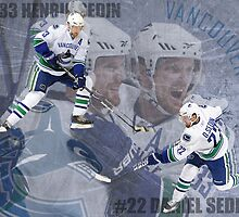 Sedin Twins by flyersgurl17