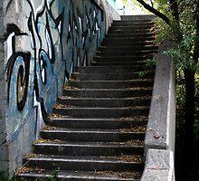 Abandoned Stairway by djnoel