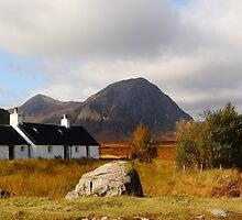 Black Rock Cottage Glen Coe by Paul Bettison
