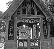 Lychgate, All Saints Church, Beckley by Dave Godden