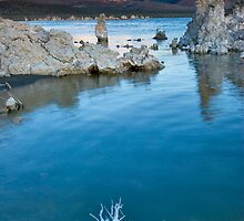 Mono Lake Ca Sunrise on the Sierras by photosbyflood