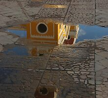 Granada Cathedral Reflection by Stephen Tapply