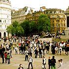 Trafalgar Square by Ines Mihalji