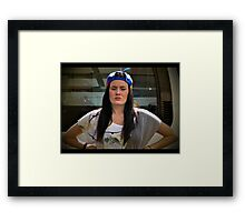 POed Framed Print