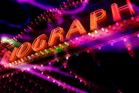biograph theater, chicago by brian gregory