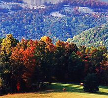 Table Rock Mountain Early Autumn by Roger Jewell
