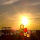 September Sun Retreats Behind West Pier by mattupchuck