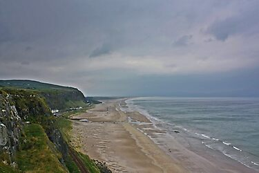 Coast View Northern Ireland by Julesrules
