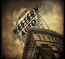 Western Auto Building - Kansas City, Missouri by Robert Baker