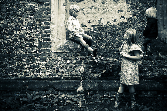 Sweet childish days ... by Emma Collins