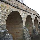 Bridge in Richmond, Tasmania by sparkographic