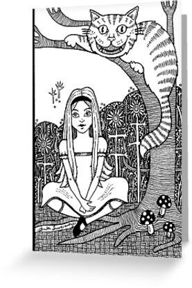 Cheshire Cat by Anita Inverarity