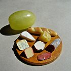 cheese plate by jessica hlavac