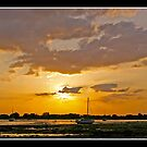 Sunset over Emsworth by Gordon Holmes